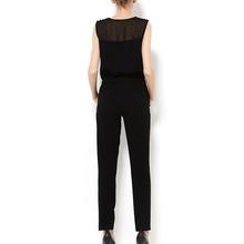 气质连pi裤女装雪纺ey袖连体裤夏季长裤2020年春季女士连身裤