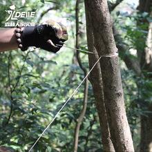 户外野pj求生手动装jf链锯线锯钢丝锯金刚石钢丝锯条手拉绳锯