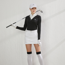 BG新pm高尔夫女装sy衣服装女上衣短裙女套装修身透气防晒运动