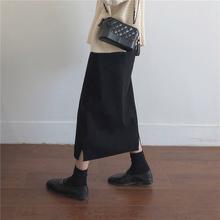 适合胖po的裙子洋气es020年新式大码女装胖妹妹显瘦网红半身裙