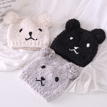 (小)熊可po月子帽产后to保暖帽时尚加厚防风孕妇产妇帽毛绒帽子