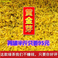安吉白po黄金芽雨前hg020春茶新茶250g罐装浙江正宗珍稀绿茶叶