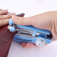 缝纫机po型型衣裁缝vy迷你家用老式手动厚型缝纫衣车蝴