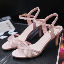 新式优po性感高跟鞋er露趾公主女鞋(小)码凉鞋313233大码41-43