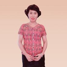 中老年女短袖夏装流行新款
