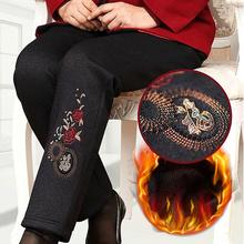 中老年pp裤冬装棉裤nj厚妈妈裤子60岁70老的奶奶装保暖裤外穿