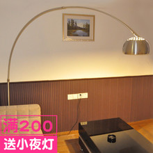 简约现pr创意LEDmi将灯遥控客厅沙发落地灯卧室书房钓鱼灯