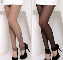 春夏季pr脱开档踩脚ch瘦性感黑色肤色丝袜连裤袜子