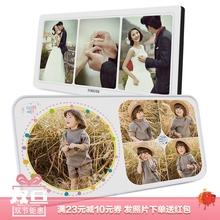 照片定制相框摆台宝宝儿童pr9照片加相ttiy韩款婚纱照挂墙画