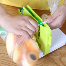 日式厨pr封口机塑料je胶带包装器家用封口夹食品保鲜袋扎口机
