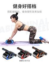 吸盘式pr腹器仰卧起je器自动回弹腹肌家用收腹健身器材