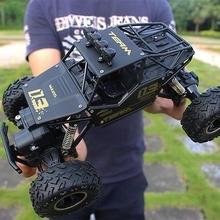 。大脚pr遥控山地沙je车玩具四驱水陆两栖成的攀爬高速防水合