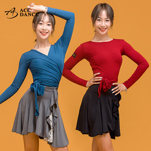 瑰意拉pr女新式上衣je穿长袖中袖瑜伽形体练功服SY160