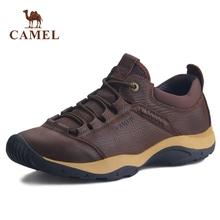 骆驼男pr秋季201nt复古休闲鞋户外鞋子男潮鞋休闲皮鞋28
