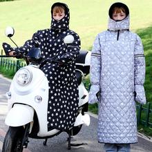 电动车pu风被冬季保ac防水防寒骑车挡风衣电瓶车摩托车