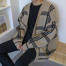 MRCpuC秋季新式xi衫针织衫韩款潮流慵懒风外套宽松百搭毛衣潮