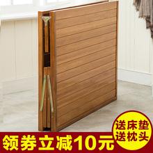 单的实pu床办公室午on叠床家用双的1.2米租房简易硬板床