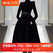 欧洲站pu021年春rt走秀新式高端女装气质黑色显瘦潮