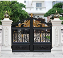 云南昆pu厂家直销铝rt别墅庭院门订制乡村自建入户