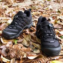 EDIpuEX户外防hi男防滑休闲旅游耐磨低帮运动轻便爬山鞋