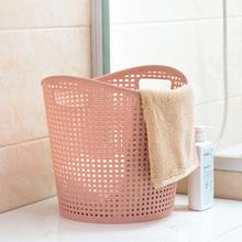 塑料脏pu篮浴室洗衣hi篓客厅玩具衣物收纳篮大号脏衣服收纳筐