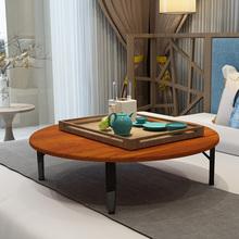 折叠桌pu桌家用炕桌hi饭(小)桌子榻榻米床上电脑桌矮桌