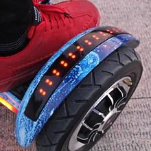 电动双pu宝宝自动脚tc代步车智能体感思维带扶杆