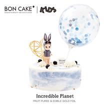 BONpuAKE【梦ng】宝宝卡通生日蛋糕奶油蛋糕戚风蛋糕同城送