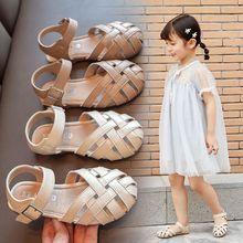 女童凉pu2020新ng宝宝(小)女孩包头公主鞋韩款夏季宝宝软底鞋子