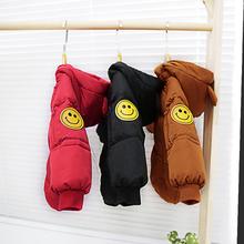 男女童pu绒棉服2冬ma宝外套(小)婴宝宝春装棉袄衣6加厚3岁卡通潮