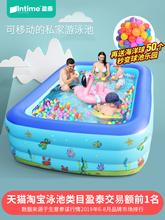 盈泰充pu游泳池家用ou孩婴儿家庭超大泳池户外大型宝宝水池