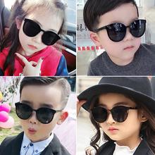 宝宝(小)pu友墨镜潮牌uo紫外线女童韩国酷宝宝网红太阳眼镜公主