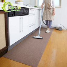 日本进pu吸附式厨房uo水地垫门厅脚垫客餐厅地毯宝宝