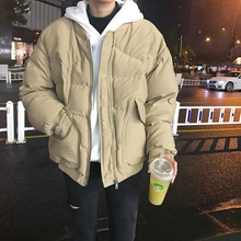 LESpuT林弯弯冬uo男生阿美咔叽加厚棒球服棉衣外套男女面包服