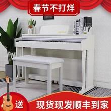 琴88px重锤成的幼bw宝宝初学者家用自学考级专业电子钢琴