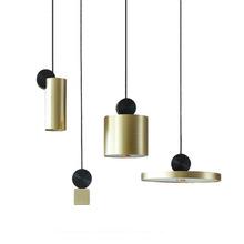 北欧温py时尚LEDrj厅卧室床头餐吊灯现代简约个性组合(小)吊灯