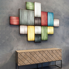 创意个qd简约现代楼ef餐厅卧室床头客厅沙发背景实木艺术壁灯