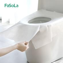 日本旅qd一次性孕产rj纸粘贴坐便套酒店厕所防水坐便垫