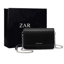 香港正qd(小)ck包包rz20新式时尚(小)黑包简约百搭链条单肩斜挎包女