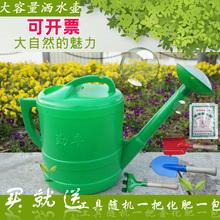 花卉洒qf壶喷壶浇花fs料加厚浇水壶壶大(小)容量花洒淋花壶