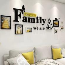 北欧装qf画沙发背景qq组合现代简约大气餐厅墙画壁画