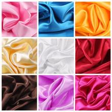 红绸布qh绸绸缎桌布kx景亮面纯色布料不透面料布匹拍照背景