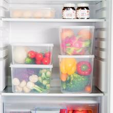日本超qi容量保鲜盒an里的塑料大号食品盒子置物有盖