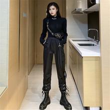 黑暗系qi装套装工装ik酷暗黑机能风格潮帅气个性中性bf风蹦迪