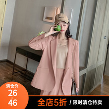 (小)虫不qi高端大码女an冬装外套女设计感(小)众休闲阔腿裤两件套