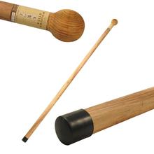 实木圆qi拐杖健康登in拐杖老的散步绅士手杖户外登山竹拐杖