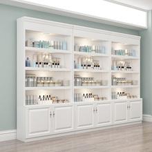 化妆品qj示柜陈列柜hc护肤品柜美容院展柜欧式产品展示柜货架