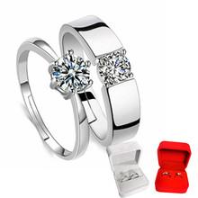 假戒指ql婚对戒婚礼18礼交换仪式用的道具求婚现场女仿真钻戒