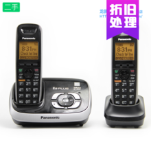 松下数ql答录无绳6bb子母机无线固定电话家用座机对讲壁挂