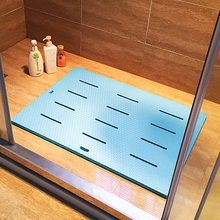 浴室防qn垫淋浴房卫gr垫防霉大号加厚隔凉家用泡沫洗澡脚垫